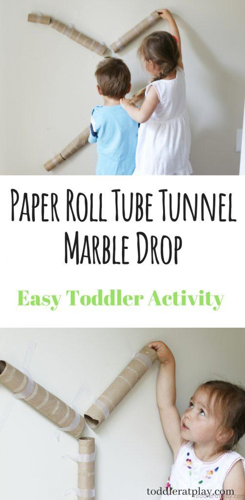 paper roll tube drop