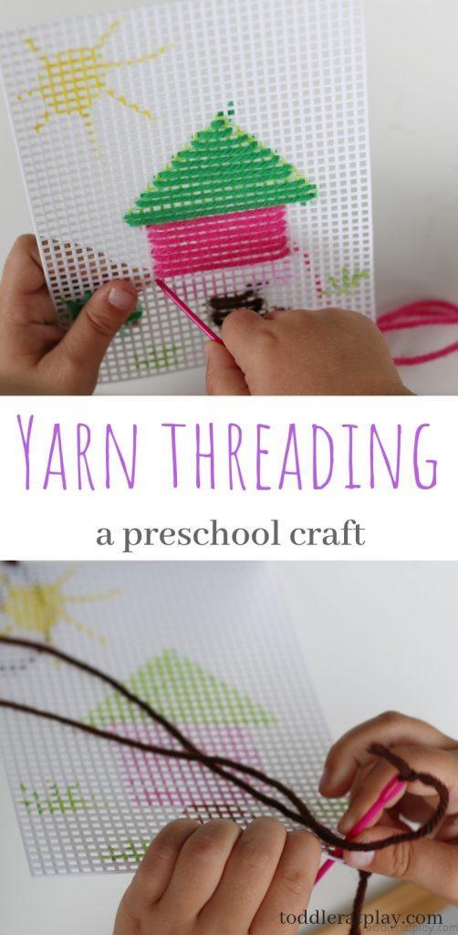 yarn threading