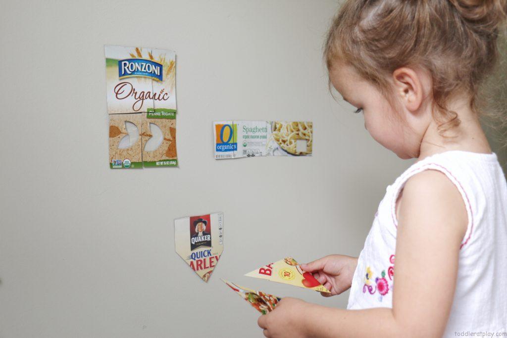 sticky pantry puzzles