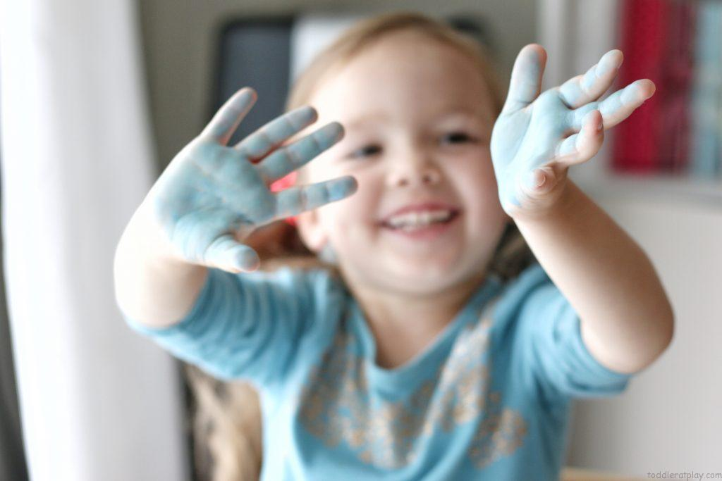 preschool printable handprints