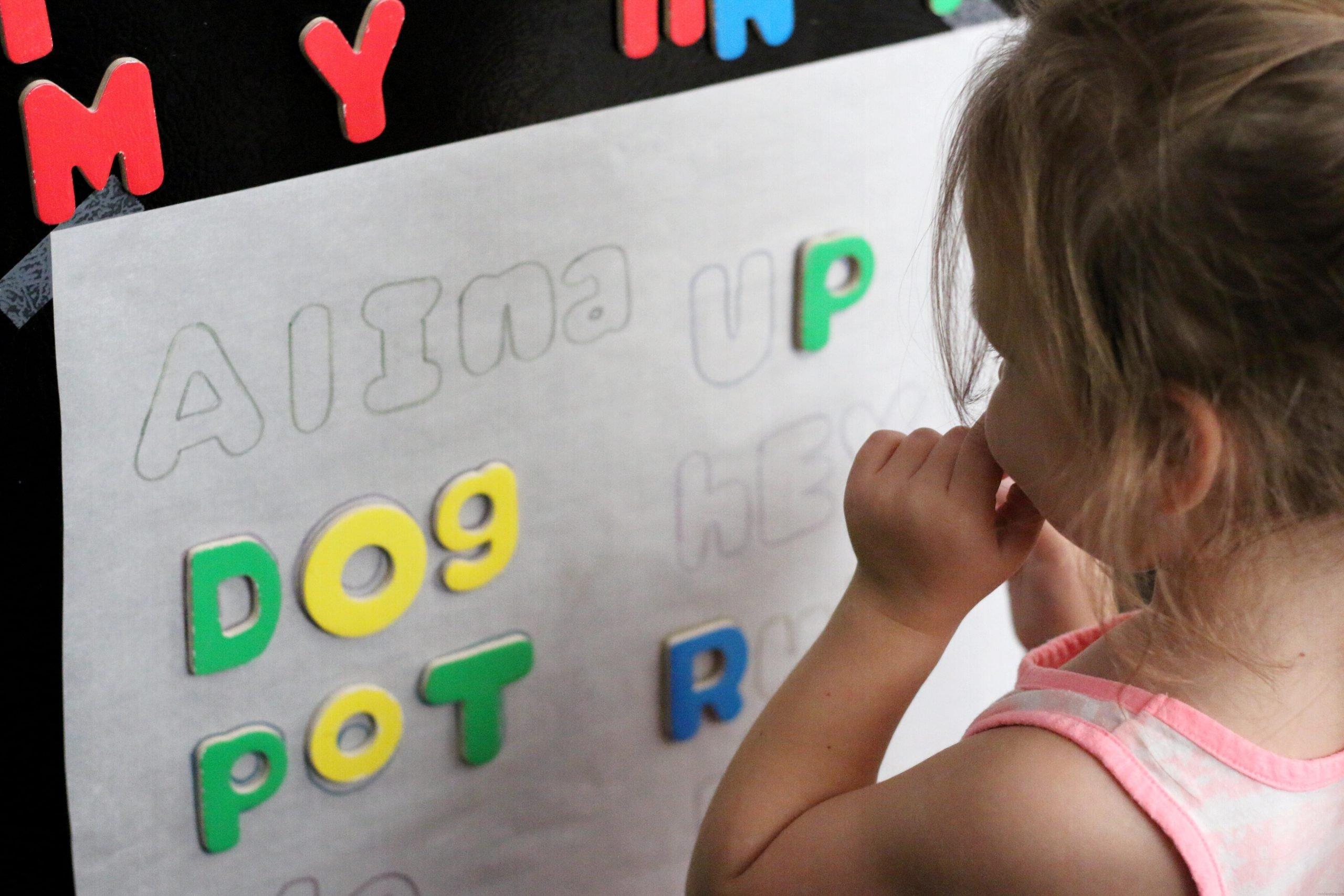 Alphabet Magnet Letter Match