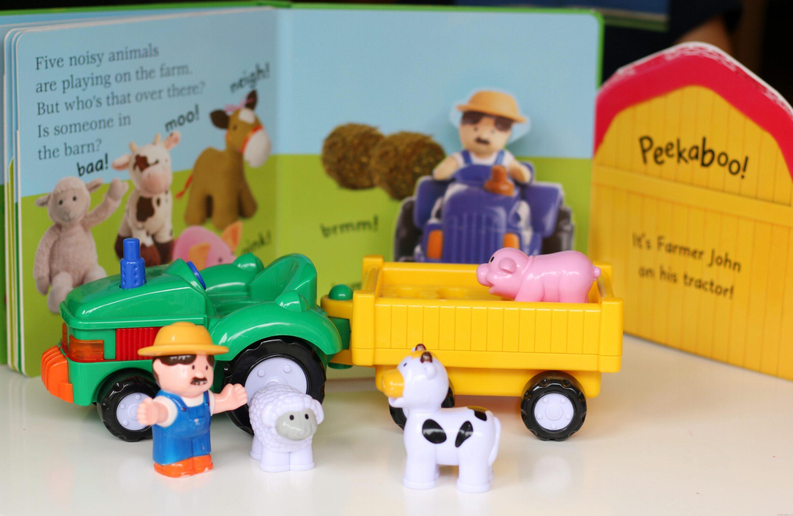 Story Time Saturdays: Pop-Up Peekaboo! Farm