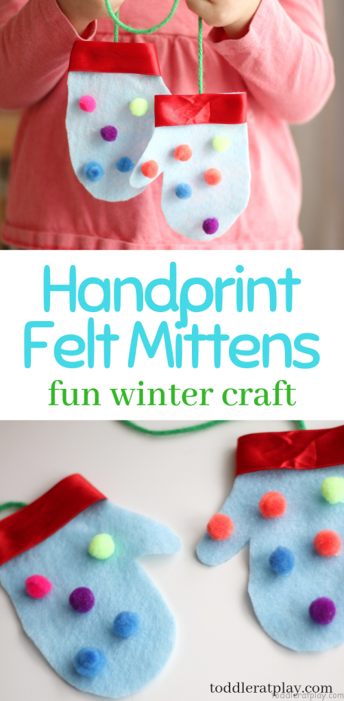 felt mittens
