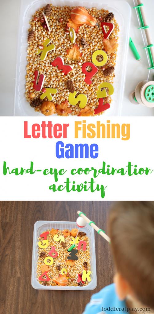 letter fishing