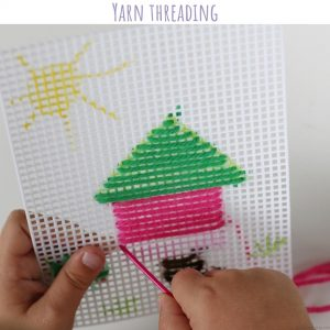 yarn threading