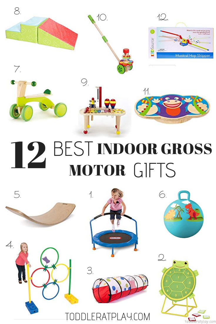 Gift Guide- 12 Best Indoor Gross Motor Gifts