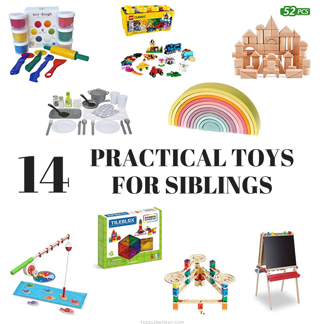 Gift Guide- 14 Practical toys for siblings
