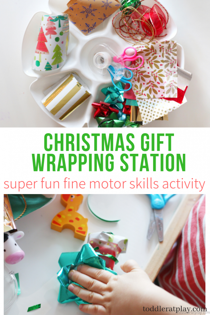 gift wrapping station