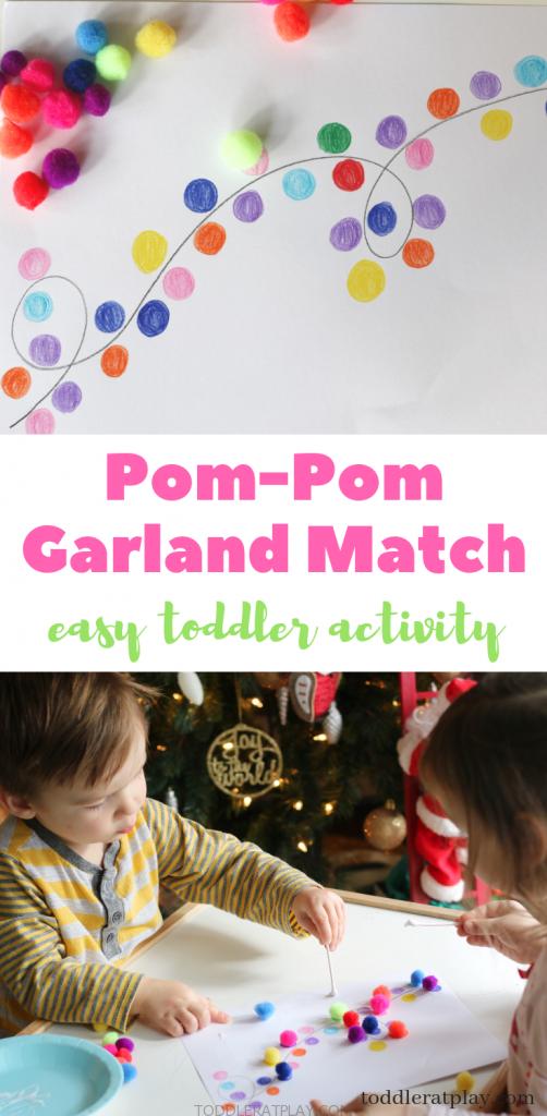pompom garland match