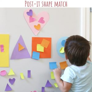post it shape match