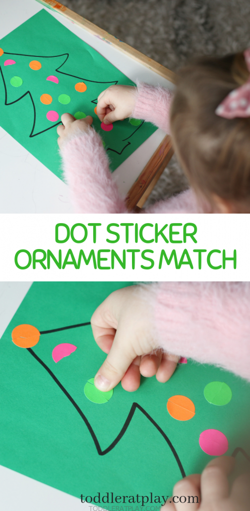 dot sticker match