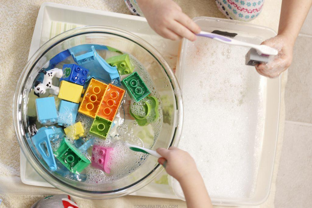duplo washing station