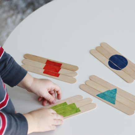 popsicle stick shape puzzles