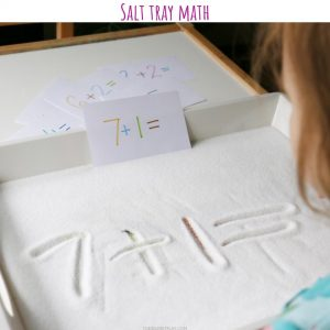 salt tray math