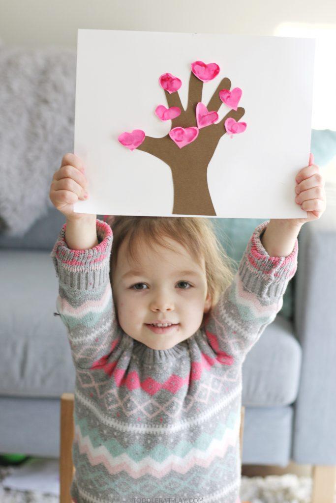 thumbprint love tree