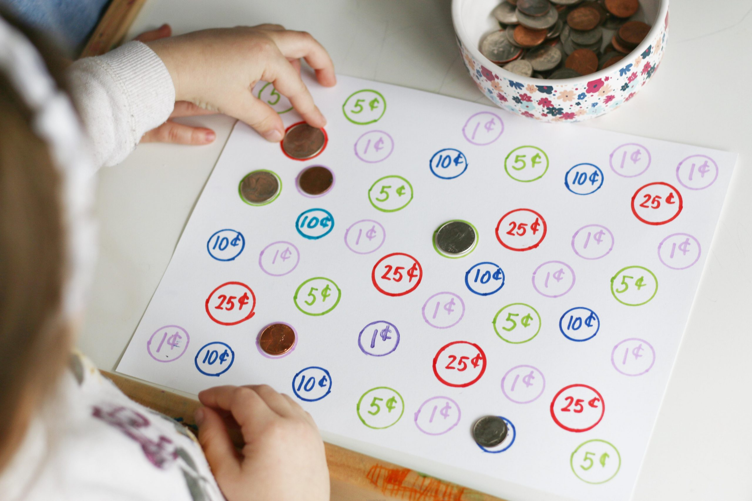 Coin Recognition Match Game