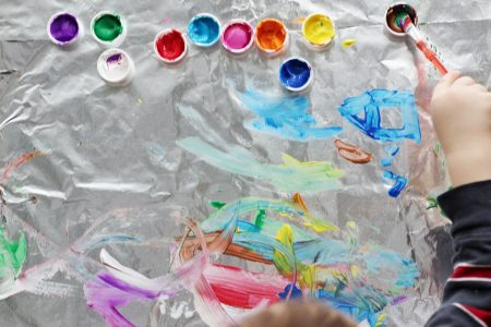 foil painting-toddler at play (1)