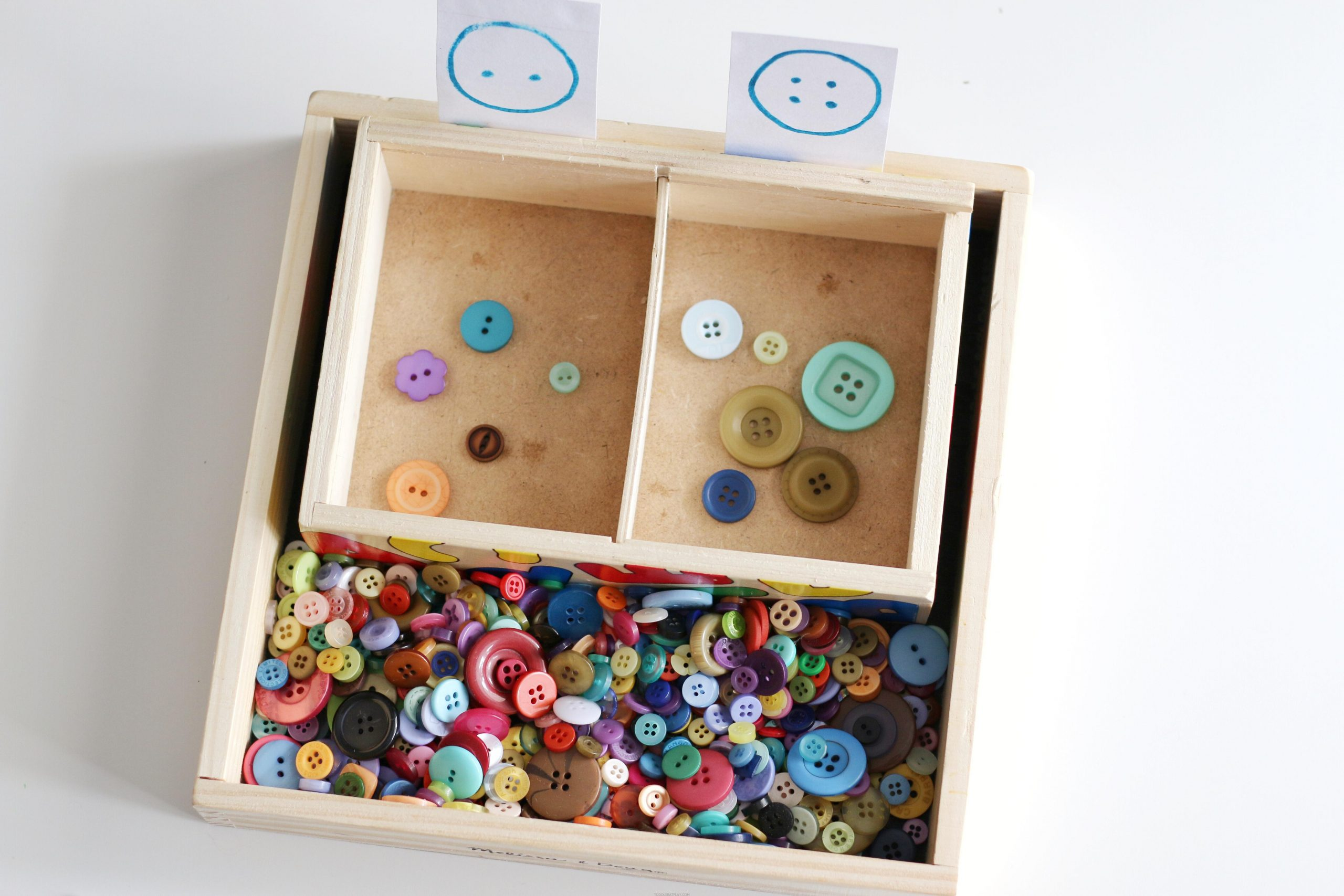 Button Sorting by the Hole