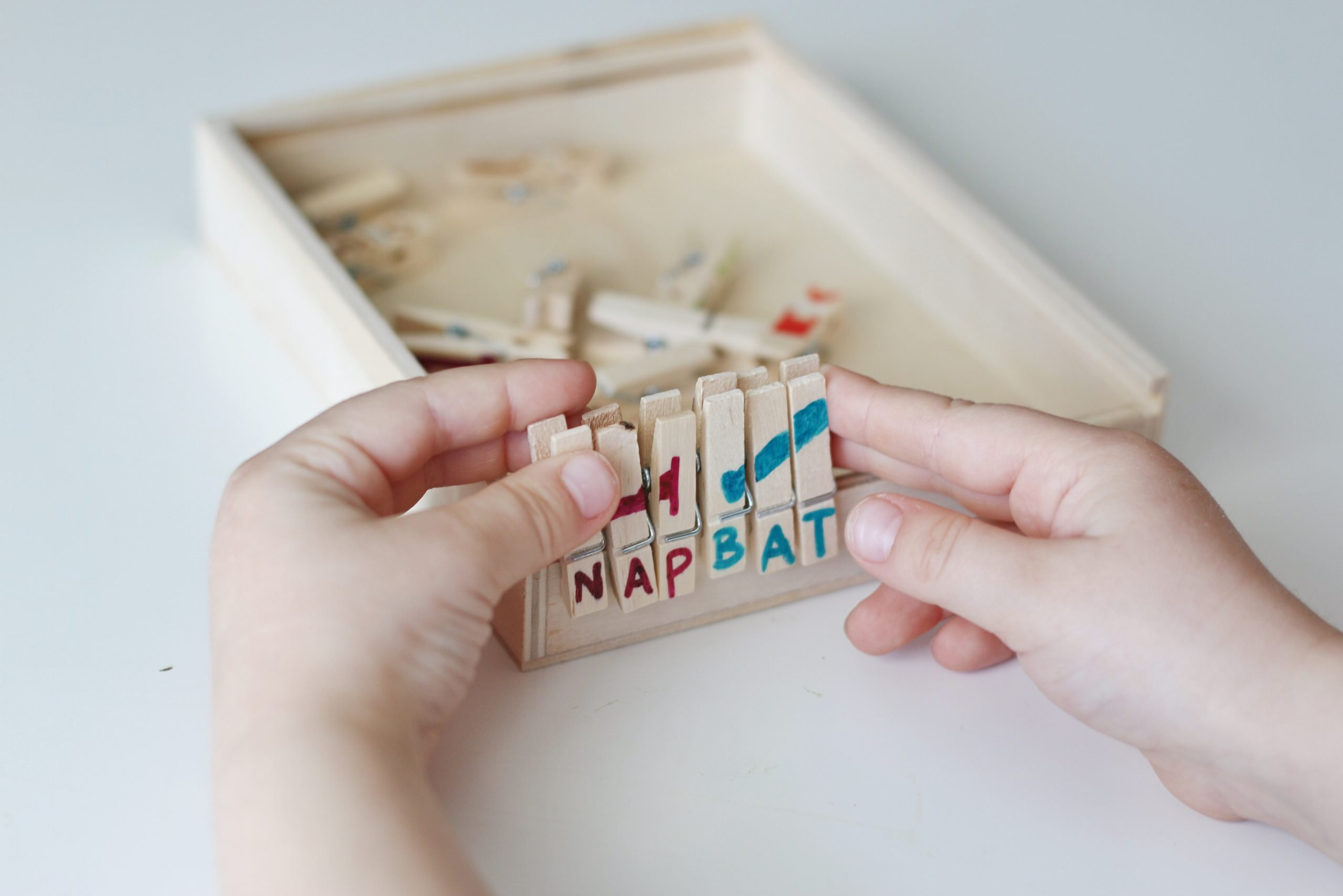 Clothespin Spelling Puzzles (Quick Video Tutorial)