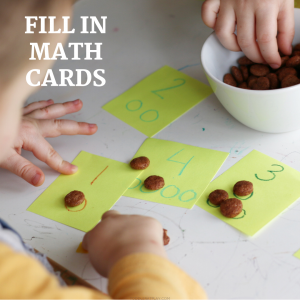 fill in math cards (1)- toddler at play