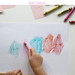 name rubbings (3)- toddler at play
