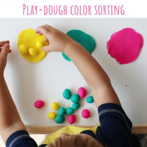 playdoug color sort (4)- toddler at play