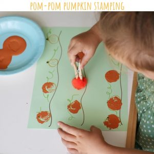 pompom stamping (11)- toddler at play