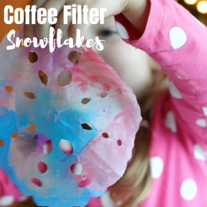 watercolor coffee filter snowflakes (4)
