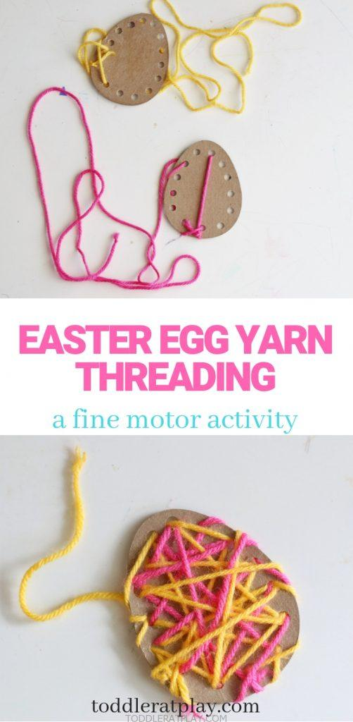 easter egg yarn threading- toddler at play (4)