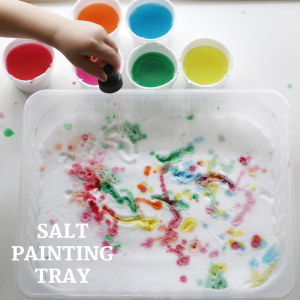 salt painting tray- toddler at play (4)