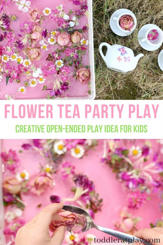 flower tea party play- toddler at play (9)