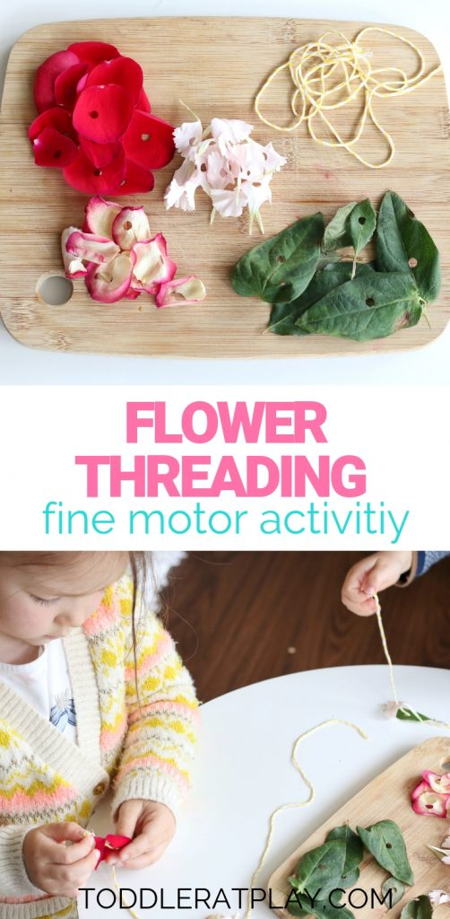 flower theading- toddler at play (1)