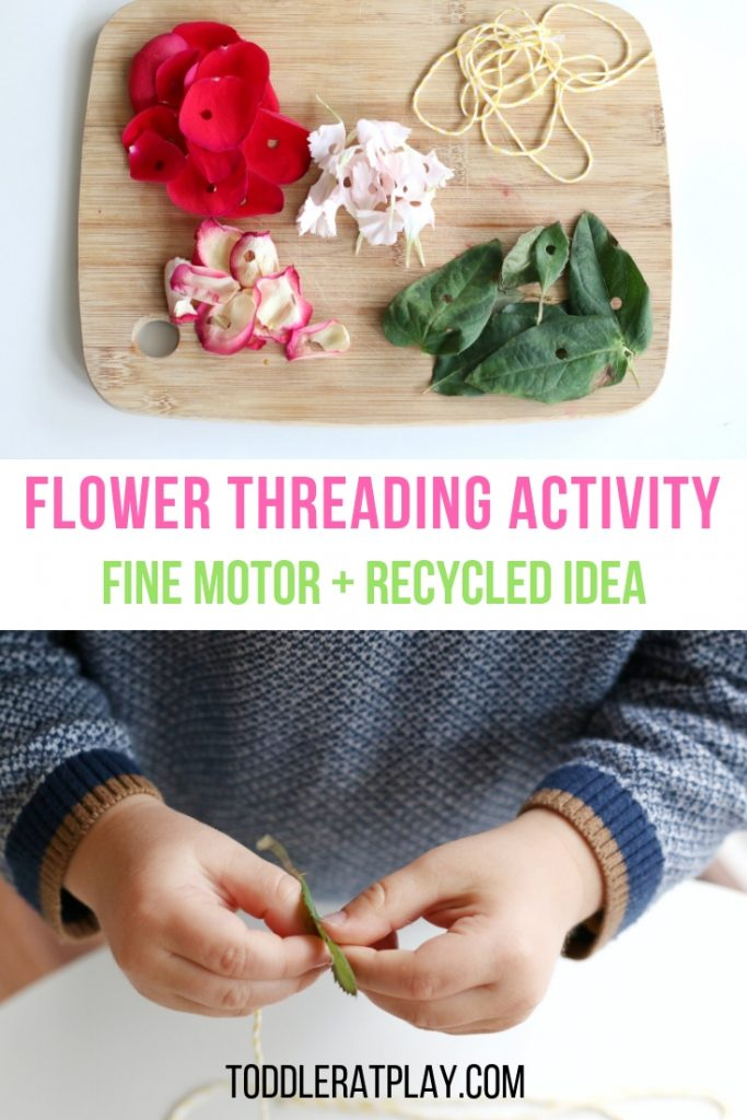 flower threading activity- toddler at play (5)