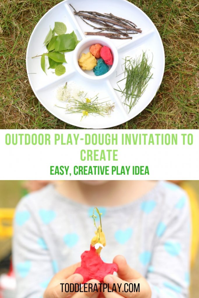 outdoor play-dough invitation to create-toddler at play (1)