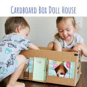 cardboard doll house (1)