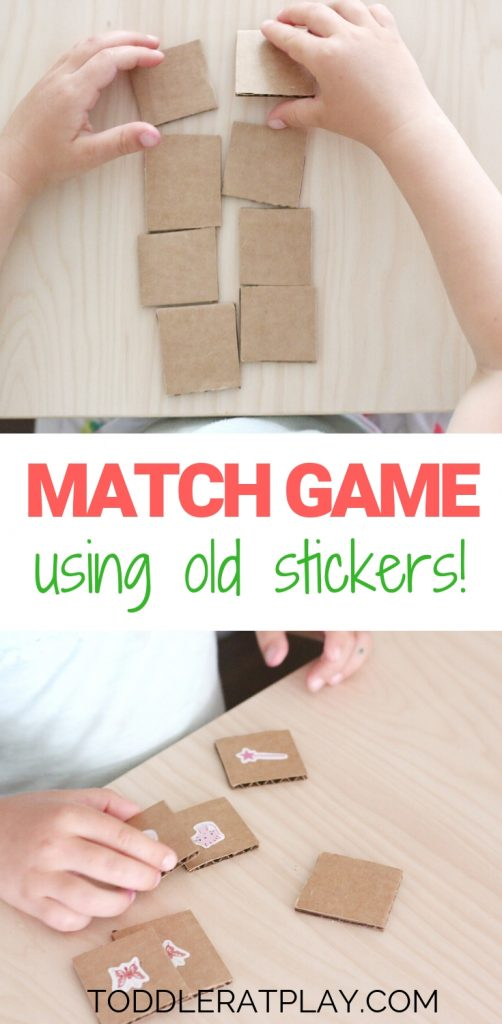 match game using old stickers- toddler at play (5)