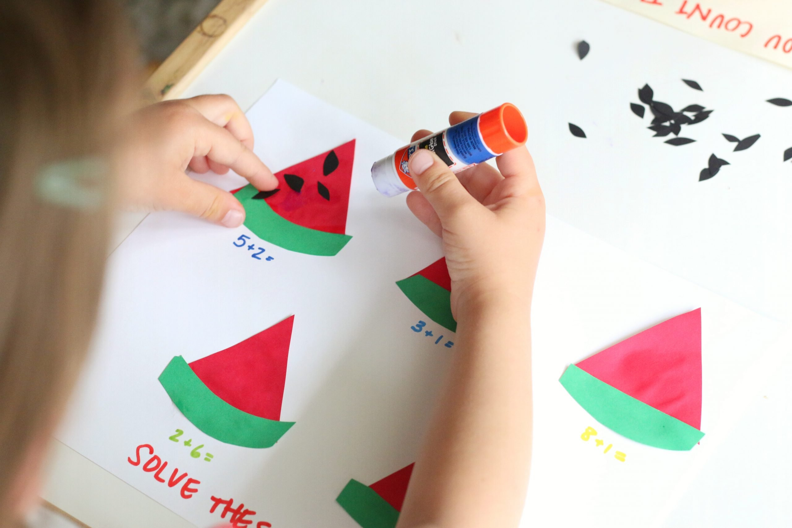 Watermelon Seed Math Problem Activity