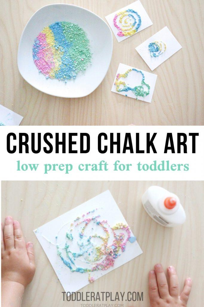 crushed chalk art- toddler at play (7)