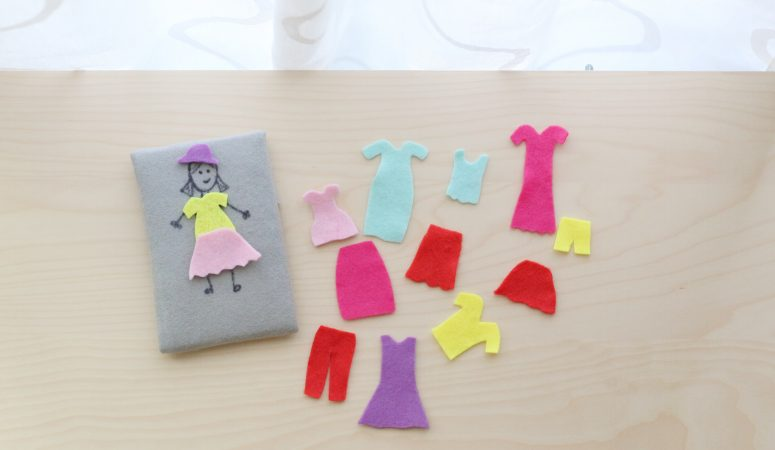 Felt Dress Up Activity