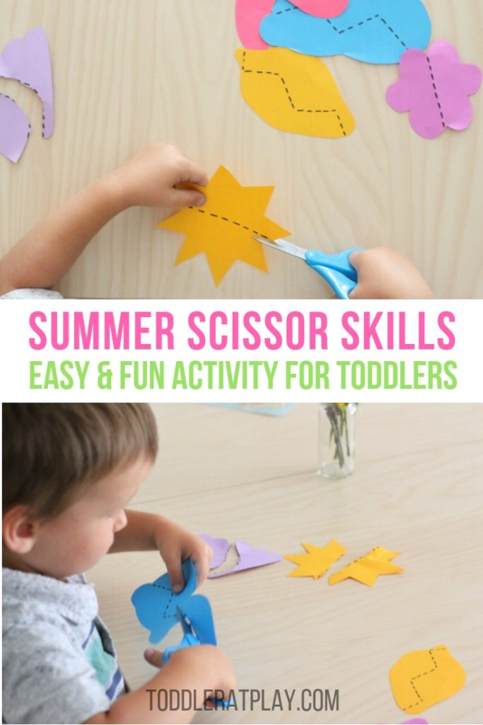 summer scissor skills - toddler at play (8)