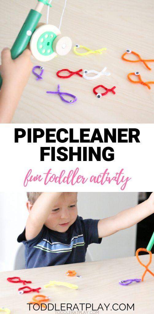 pipecleaner fishing- toddler at play (2)