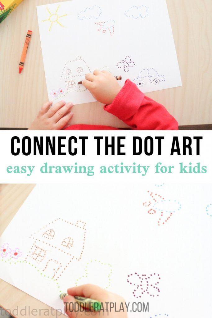 connect the dots art - toddler at play (2)