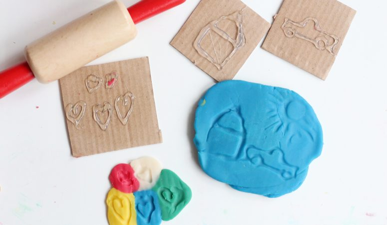diy play-dough stamps