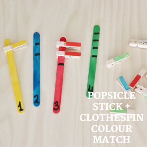 popsicle stick +clothespin Colour match- toddler at play (5)