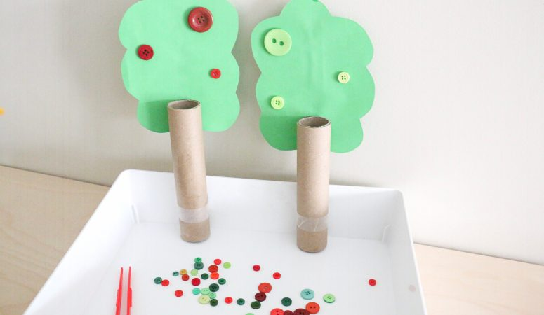 Apple Tree Button Color Sort