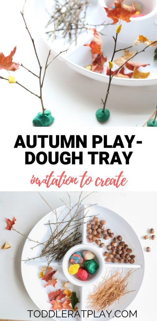 autumn play-dough tray invitation to create (1)