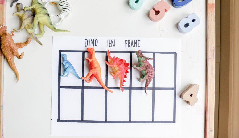 Dino Ten Frame