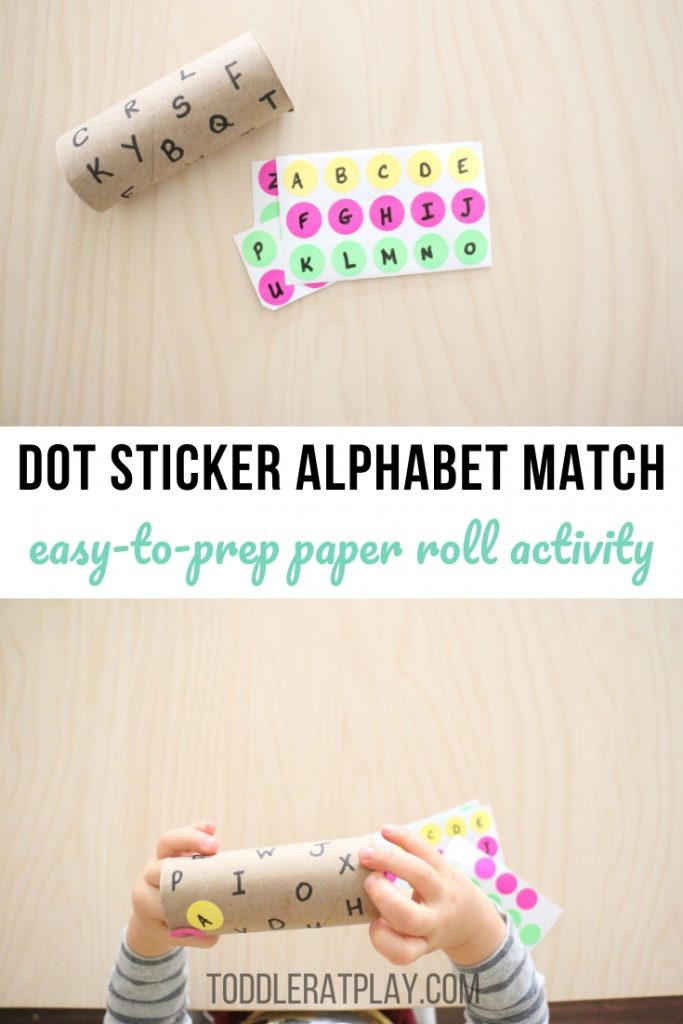 dot sticker alphabet match using paper roll- toddler at play (1)