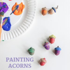 painting acorns- toddler at play (15)