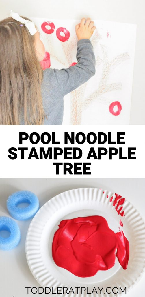pool noodle stamped apple tree- toddler at play (1)